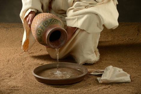 bigstock-jesus-with-a-jug-of-water-and-38678869