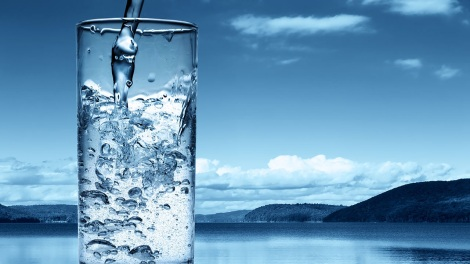 glass-of-water-on-lake