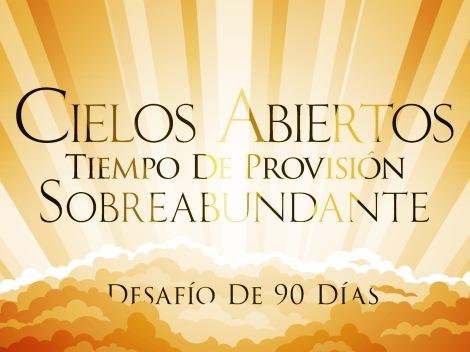 Cielos Abiertos Tiempo De Provisión Sobreabundante_t
