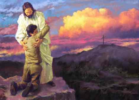 jesus-saves1Venid-a-Mi-los-cansados-y-agobiados1