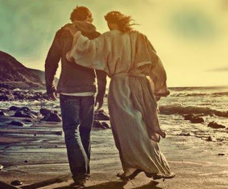 jesus y joven