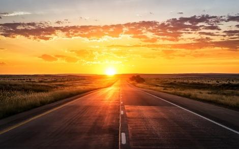road_sunset_marking_grass_102104_3840x2400