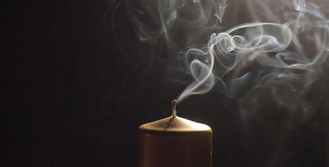 candle-smoke